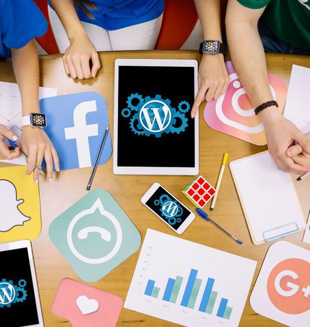 3 formas fáciles de integrar WordPress con las redes sociales