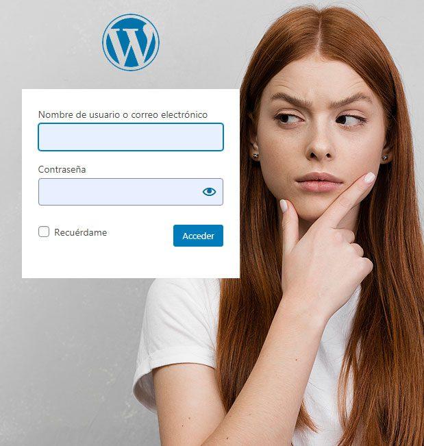 Acceso temporal al Administrador Wordpress